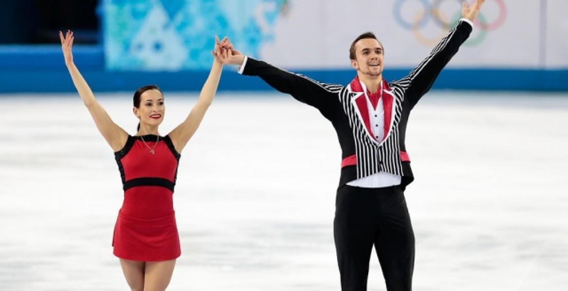 Ксения Столбова и Федор Климов выиграли московский этап «Гран-при»