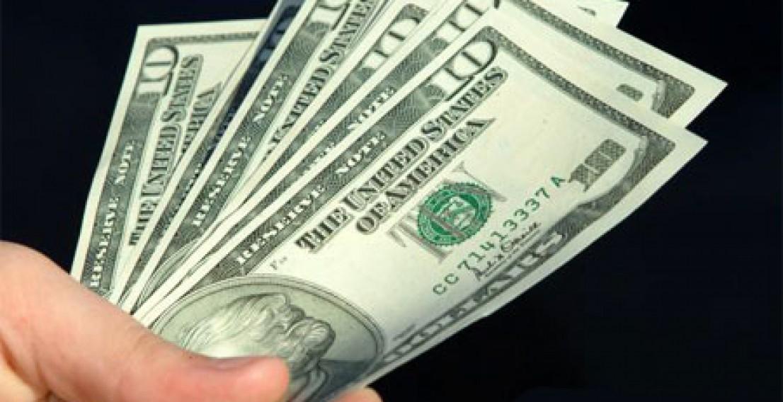 Курс доллара снизился на 32 копейки