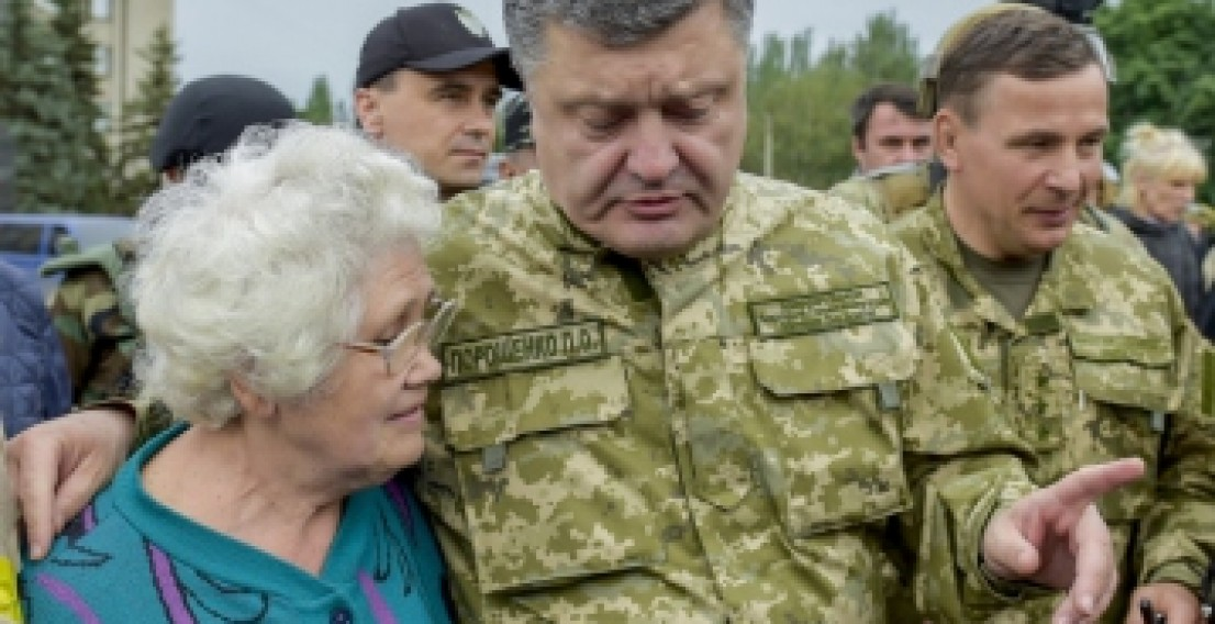 Порошенко обеспечит жителей Донбасса питанием и медикаментами
