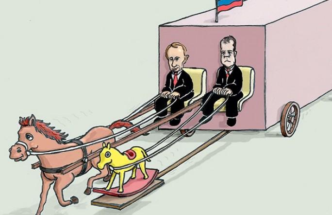 В госдуме заговорили о скорой отставке правительства