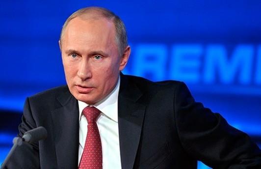 Сегодня, в полдень, пройдёт пресс-конференция Путина