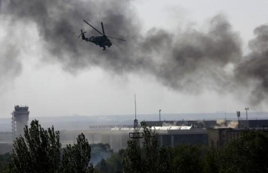 Пророссийские сепаратисты начали бои в районе аэропорта Донецка