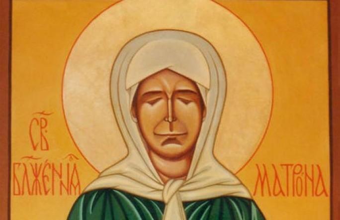 В Тюмень привезли икону Блаженной Матроны Московской