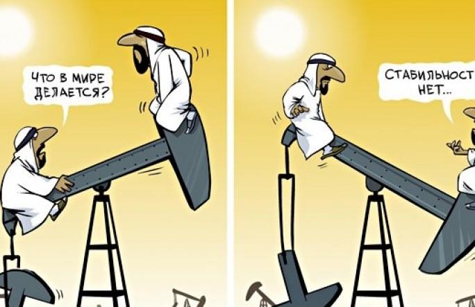 Фьючерсы на нефть марки Brent упали до $54 за баррель