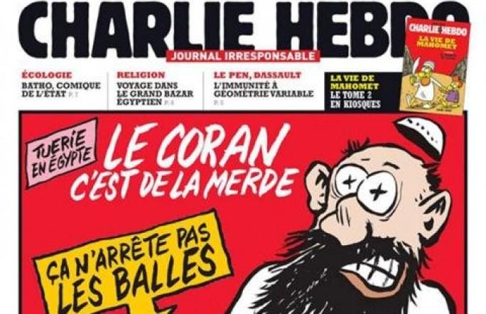 В Интернете появилось онлайн-приложение еженедельника Charlie Hebdo