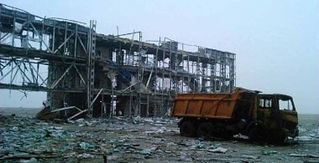 Донецкий аэропорт покинули силы АТО. Неофициальные данные