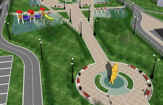 Голосуйте за скульптуру, которая украсит Семейный сквер г. Тюмени