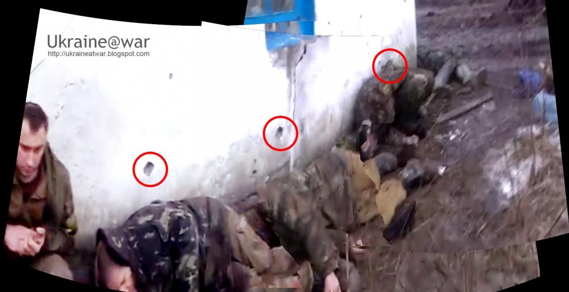 Террористы казнили военнопленных на Донбассе