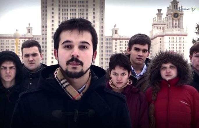 Студенты России в видеоролике обратились к студентам Украины. Видео