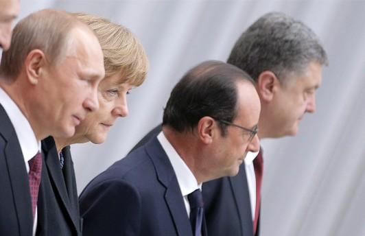 Лидеры стран «нормандской четвёрки» провели телефонные переговоры по ситуации на Украине