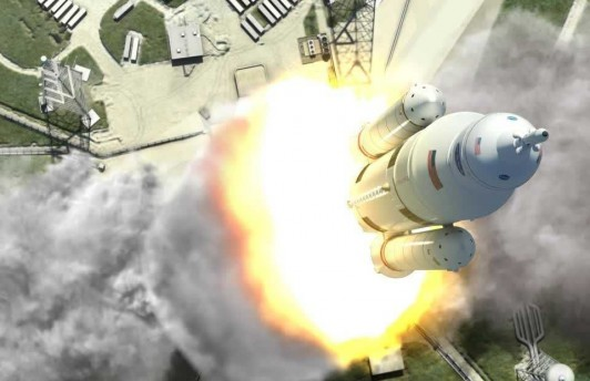 NASA строит ракетного монстра Space Launch System