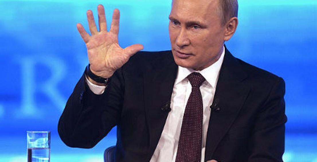 Вопросы на «прямую линию» с Путиным начнут принимать с 9 апреля