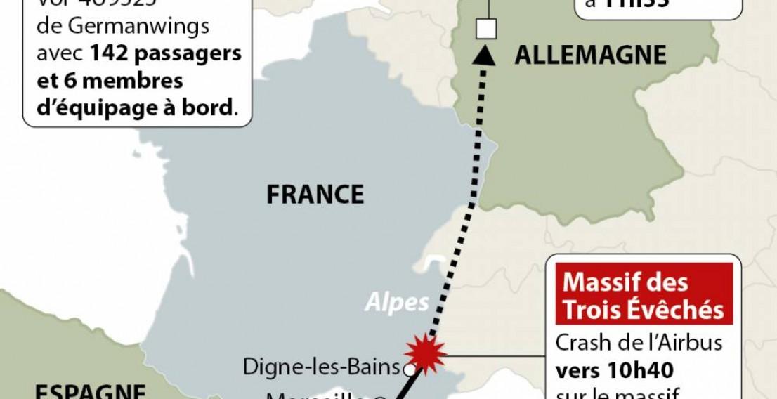 Во Франции разбился пассажирский самолёт А320