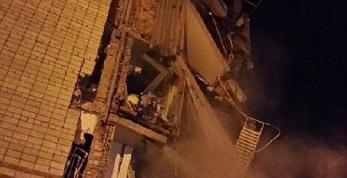 В Тюмени обрушился подъезд пятиэтажного дома