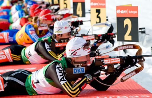 Поклонники биатлона смогут выиграть билеты на «Гонку чемпионов»