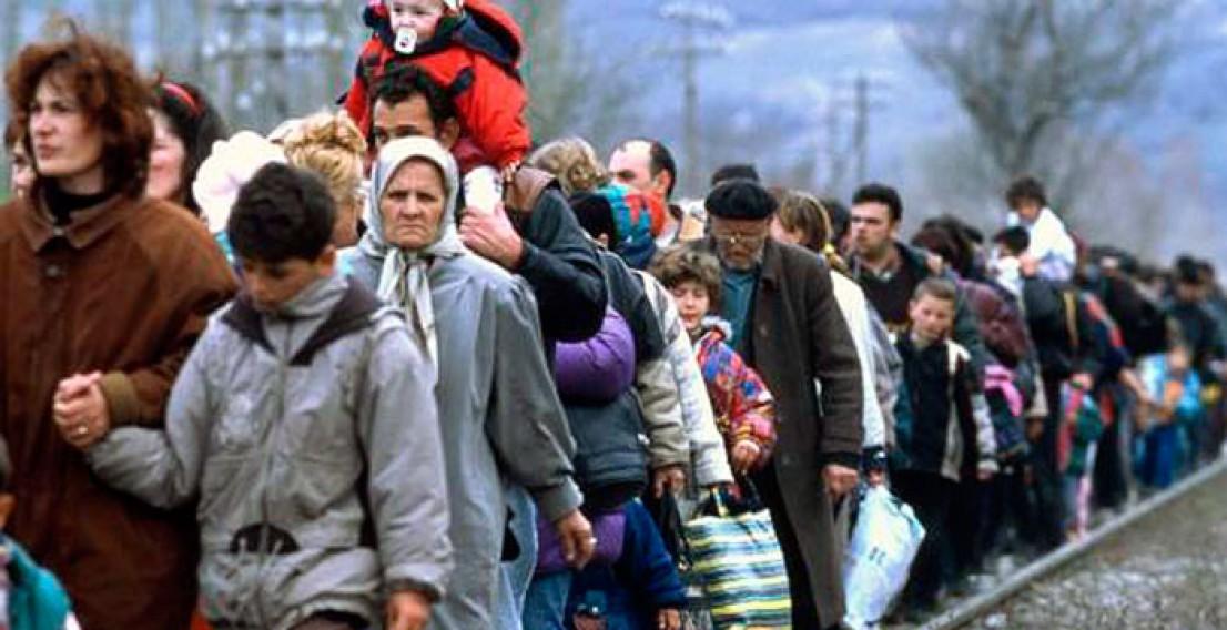 Число украинских беженцев достигло более 800 тыс. человек