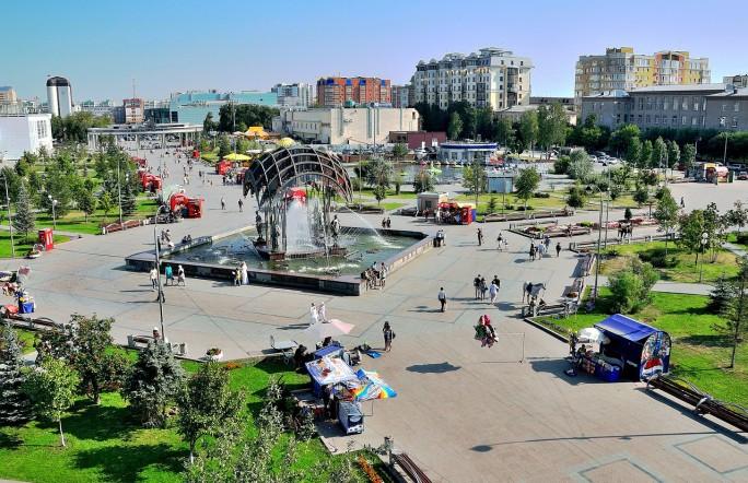 Прогулки по Тюмени с 27 апреля по 3 мая