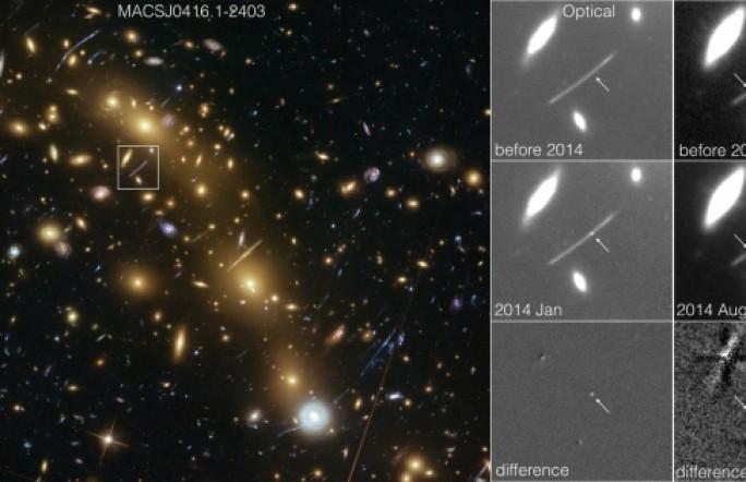 Хаббл зафиксировал непонятные вспышки, меняющие астрофизические модели