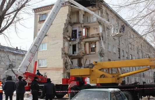 Жителей обрушившегося дома на ул. Харьковской расселят