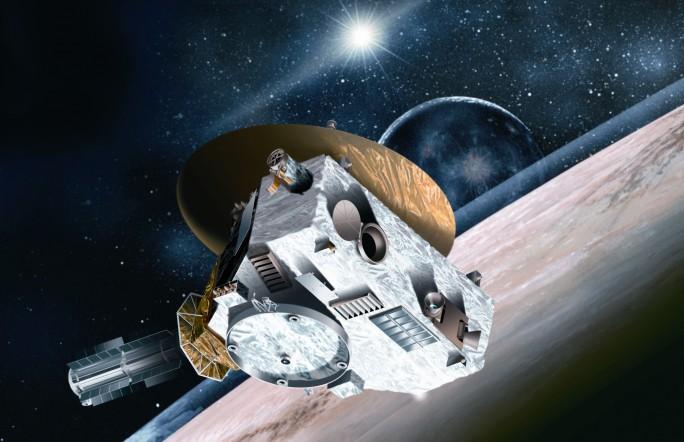Межпланетная станция «Новые горизонты» исследует Плутон через два месяца