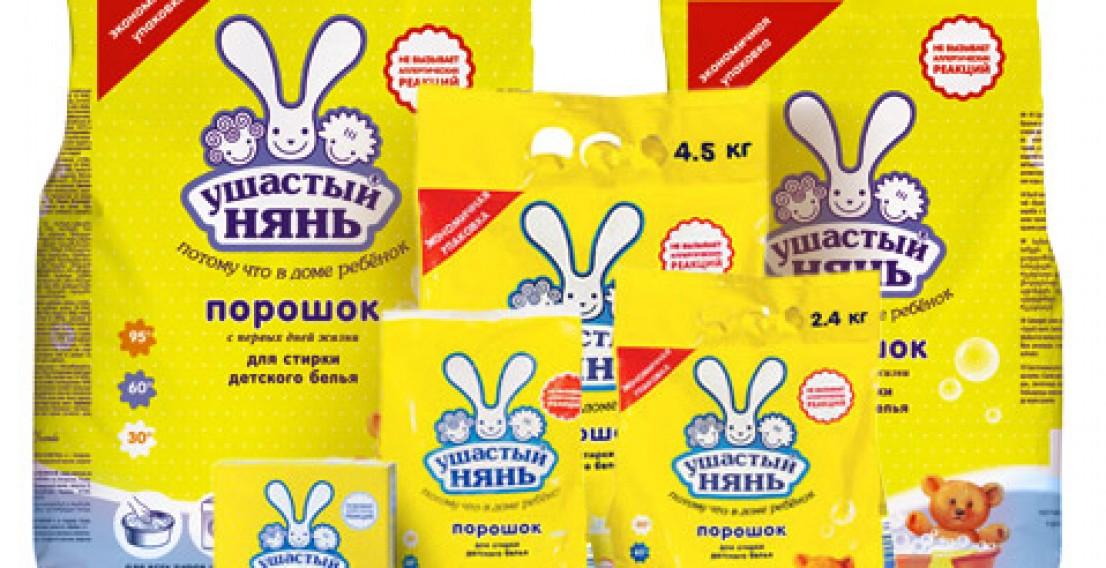 Роспотребнадзор запретил ввоз украинских моющих средств «Ушастый нянь» и «Лотос» в РФ