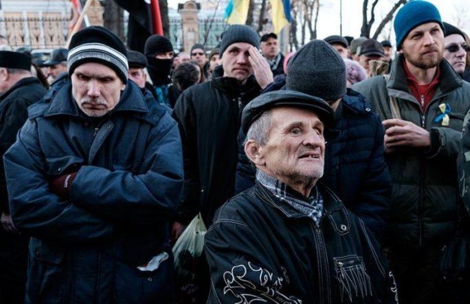 В Киеве произошли столкновения протестующих и полиции